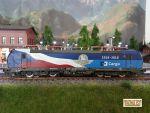 Locomotiva electrica 383 009-8 CD Cargo, analogica
