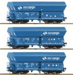 Set 3 vagoane marfa cu autodescarcare, Ep.VI, PKP Cargo