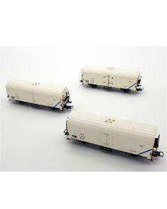 Set 3 vagoane refrigerente tip Rsfwc, CFR