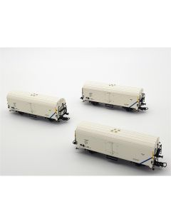 Set 3 vagoane refrigerente, CFR-INTERFRIGO
