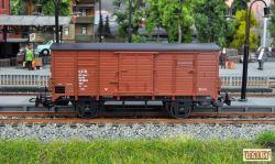 Vagon marfa CFR  pe 2 osii Ggklm 00 53 1197 883-8.