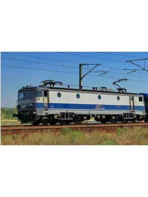 Locomotiva electrica 060-EA, CFR Calatori, in schema de  vopsire ,,EXPRESS