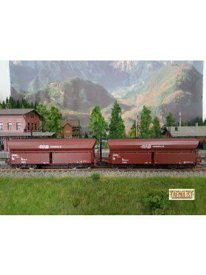 Set 2 vagoane cu autodescarcare RAG