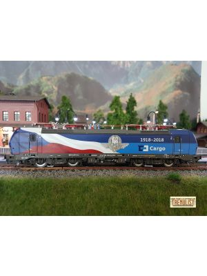 Locomotiva electrica 383 009-8 CD Cargo, analogica