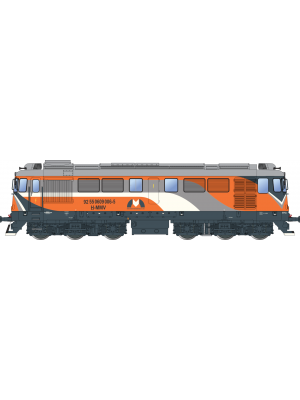 Locomotiva diesel H-MMV 060-DA, analogica