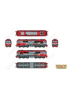 Locomotiva diesel DA CFR Marfa 92 53 0 600934-9, digitala cu sunet.