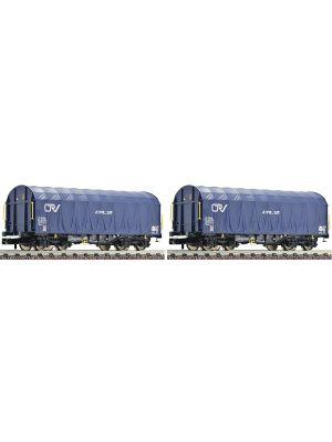 Set 2 vagoane tip Shimms, CFL Cargo Scara N