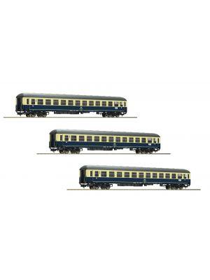 Set 3 vagoane IC Riemenschneider, ep.IV, DB, partea II.