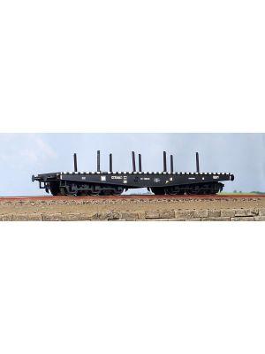 Vagon platforma 6 osii tip NTIISDFF, CFR
