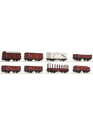 Set 8 vagoane marfa DB, Ep.III