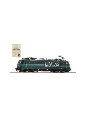 Locomotiva electrica BR 186, LINEAS